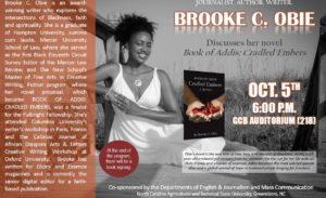 brooke obie north carolina a&t university book of addis college tour