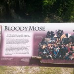 Sign at Fort Mose
